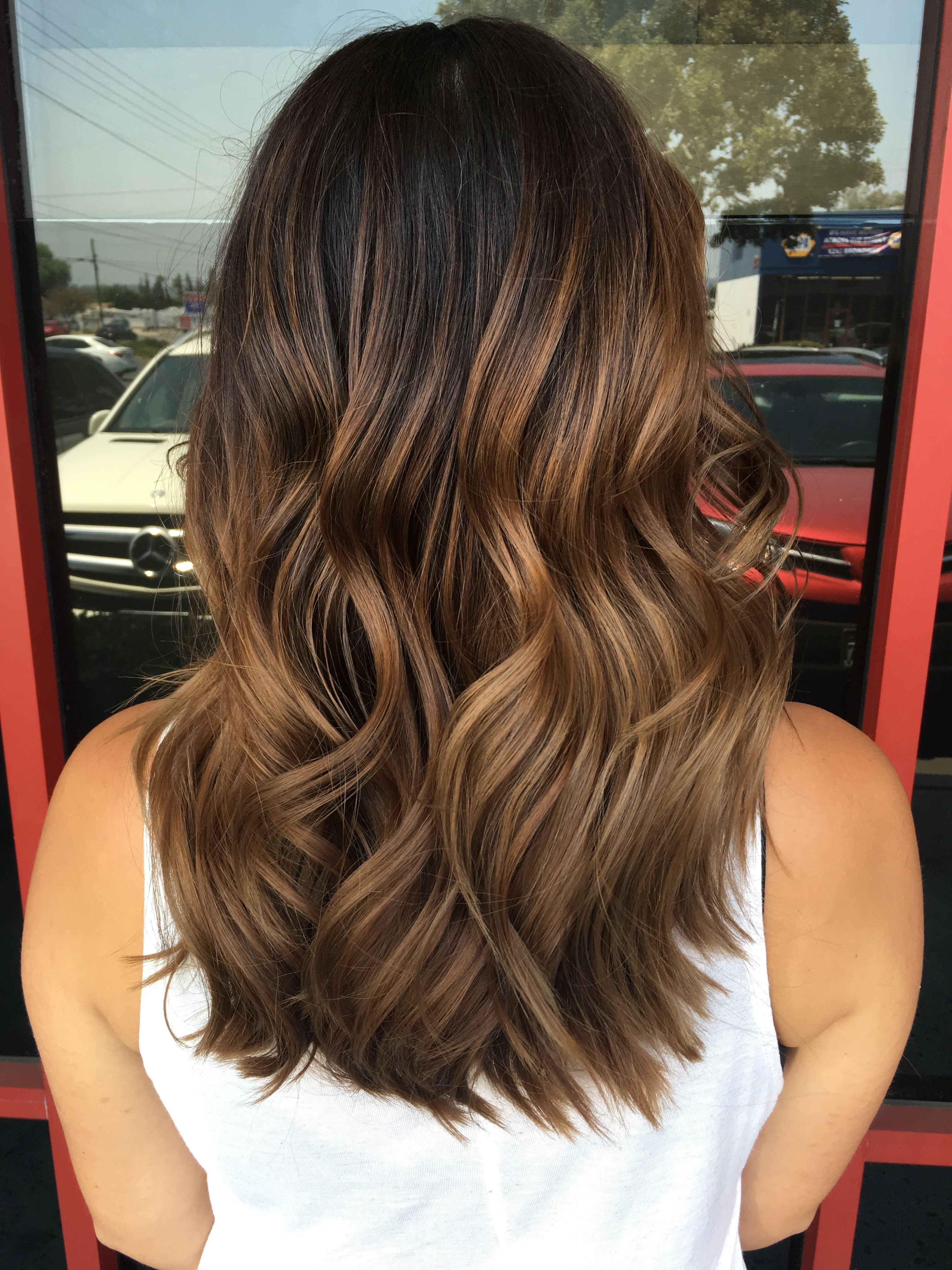 Favorite Medium Hairstyles With Balayage Throughout Balayage Hair, Balayage Highlights, Brown Balayage Hair, Highlights (View 8 of 20)