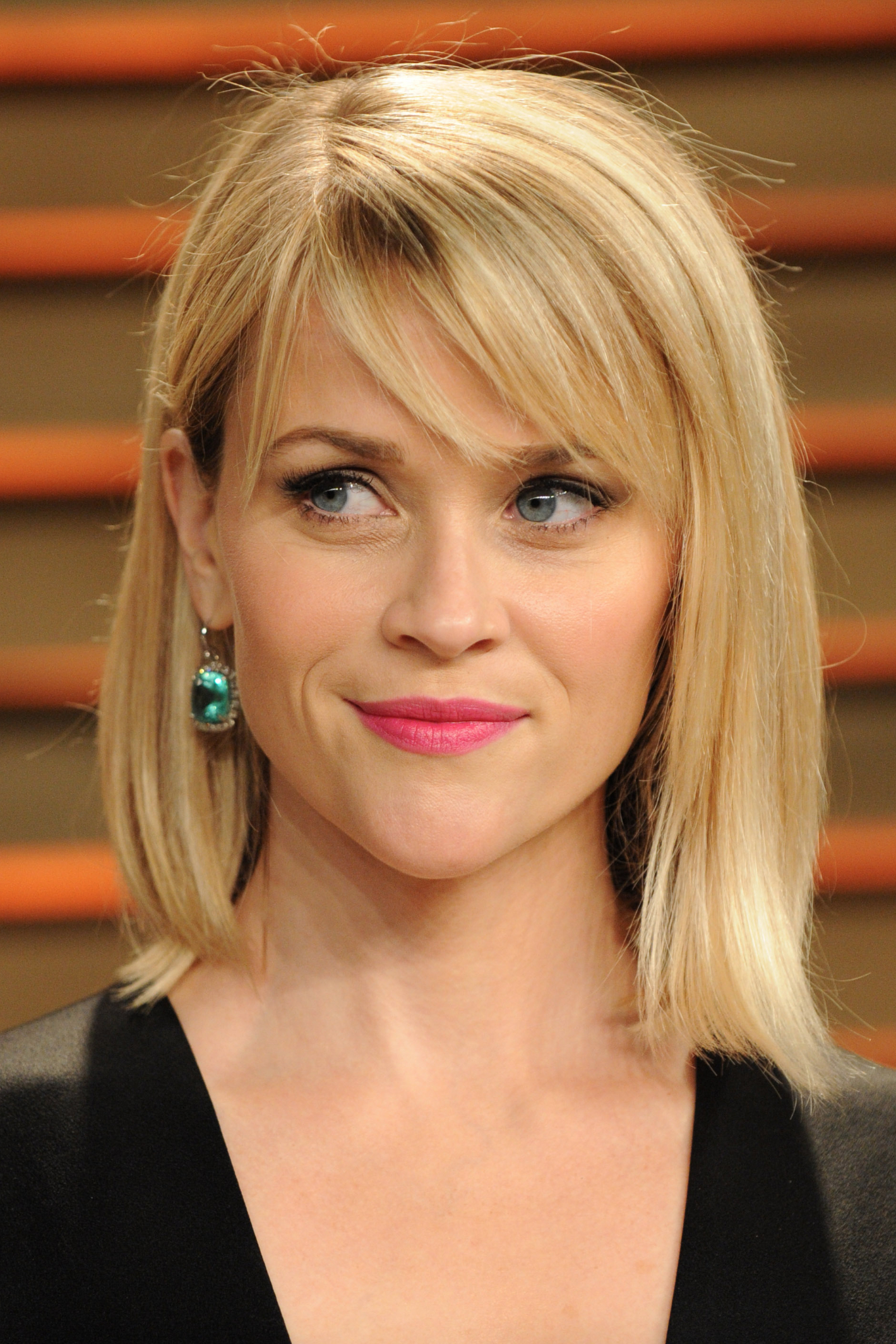 Favorite Medium Hairstyles With Swoop Bangs Throughout Reese Witherspoon's New $2 Million Home Is A Real Fixer Upper (View 9 of 20)