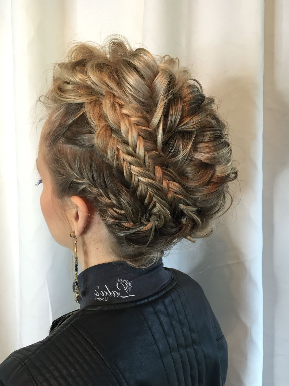 Favorite Messy Fishtail Faux Hawk Hairstyles With Regard To Braid Color Combo Inspiration For Summer (View 8 of 20)