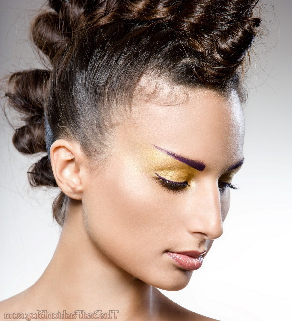 Favorite Messy Hawk Hairstyles For Women For Punk Hairstyles For Women (Pictures) (View 8 of 20)