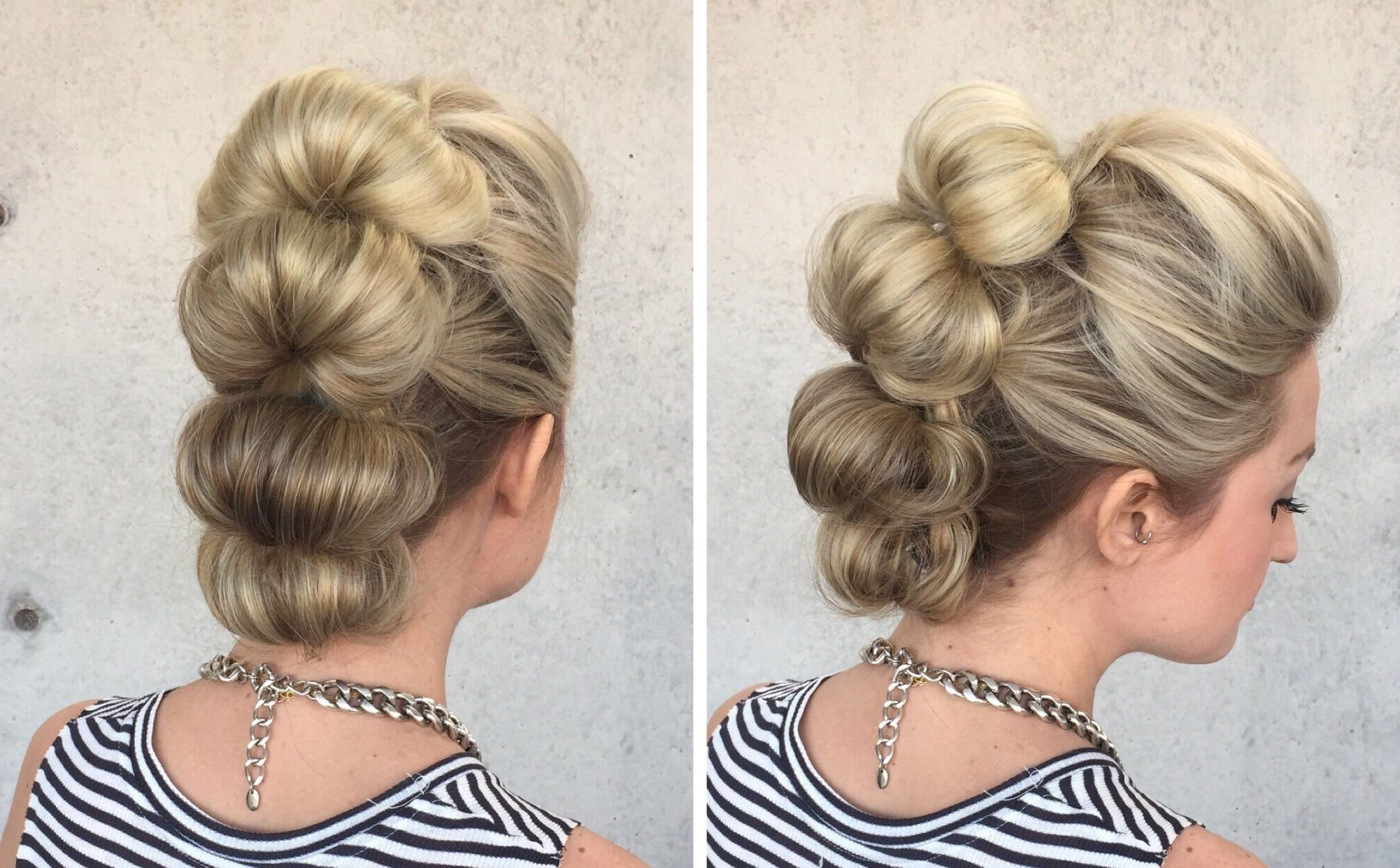 Favorite Unique Updo Faux Hawk Hairstyles Throughout Topsy Tail Loop Faux Hawk Hair Tutorial (View 8 of 20)