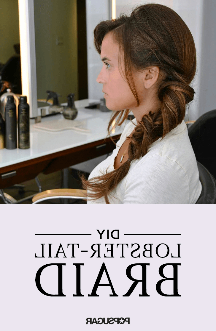 Fishtail Braid With Regard To Latest Lobster Tail Faux Hawk Hairstyles (View 5 of 20)