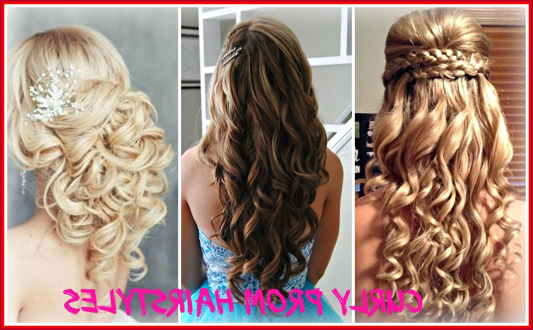 Formal Hairstyles For Curly Medium Hair 312494 Awesome Curly Prom Within Preferred Curly Medium Hairstyles For Prom (View 9 of 20)