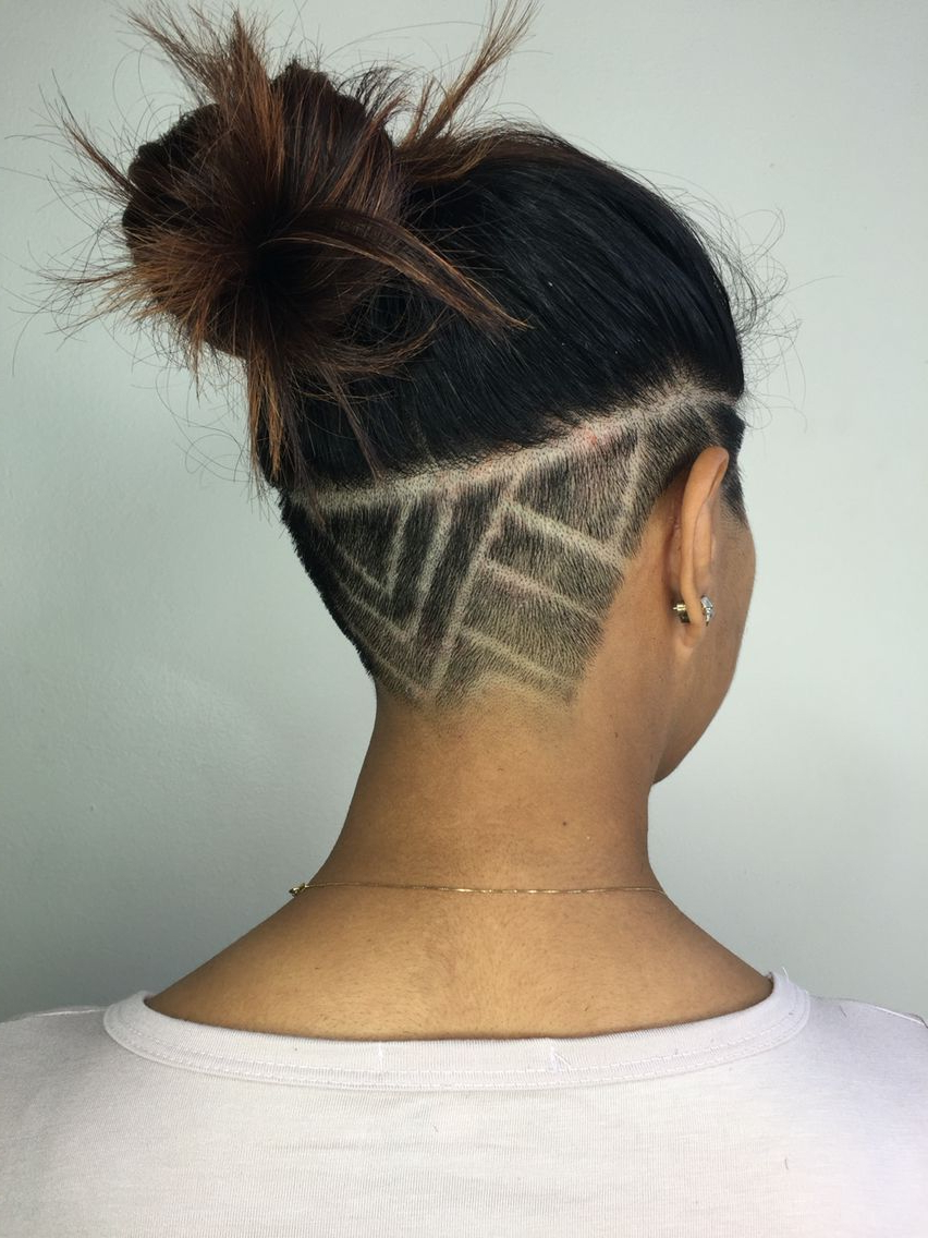 Geometric Undercut Michelle Robek Hair Design (Gallery 14 of 20)