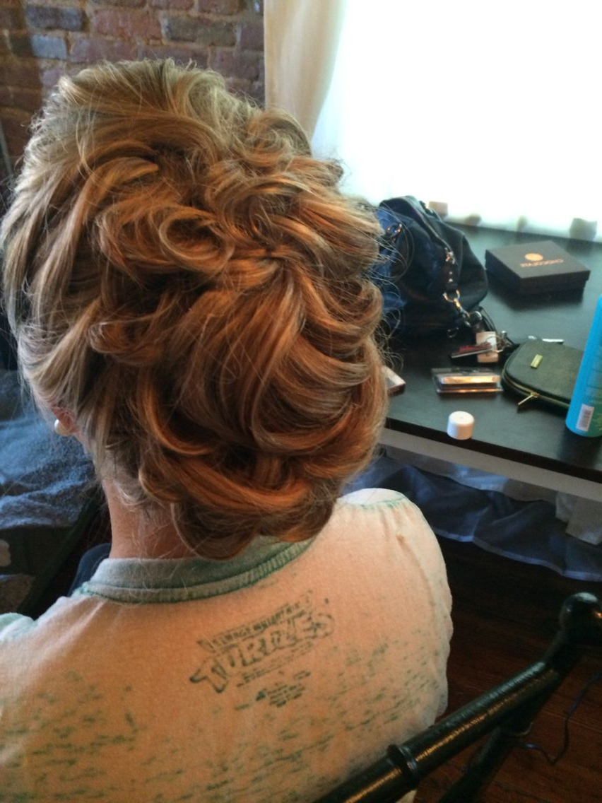 Glam Mohawk Updo For Special Eventjordan (Gallery 1 of 20)