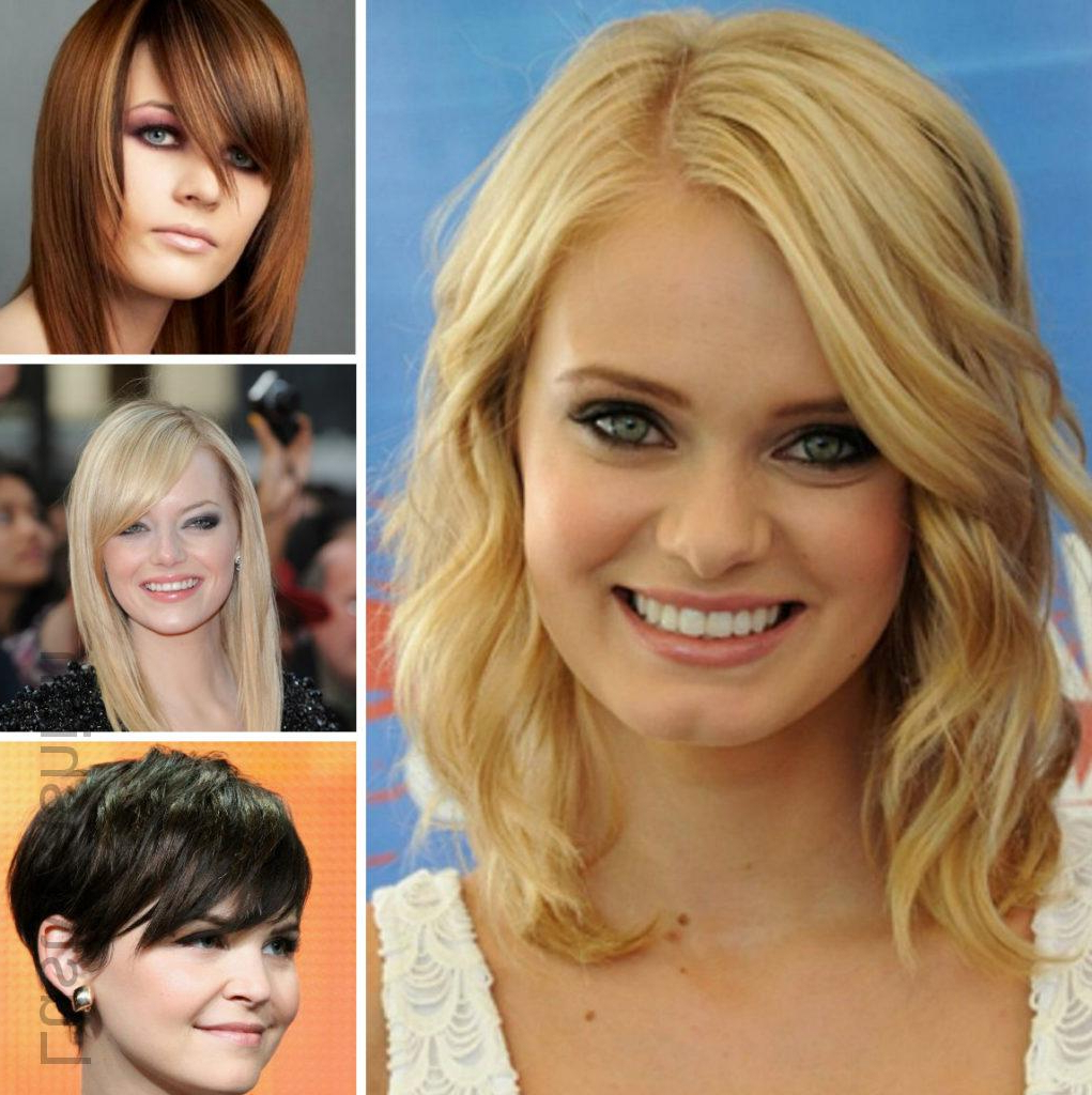 Gorgeous Hairstyles For Round Face Women 2017 – Lustyfashion Inside 2018 Women Medium Haircuts For Round Faces (View 13 of 20)