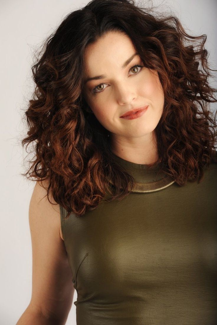 Featured Photo of Thick Curly Hair Medium Hairstyles