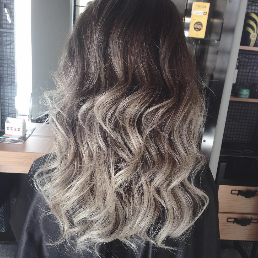 Hair Color : Brunette Ombre Hair Bob Hairstyles Clip In Extensions Intended For Most Recently Released Medium Haircuts With Fiery Ombre Layers (View 8 of 20)