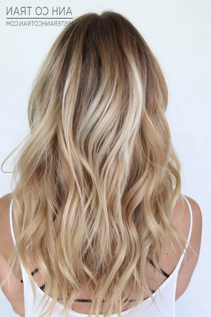 Hair Color : Medium Length Blonde Haircuts Hairstyles With Fringe With Latest Medium Haircuts For Blondes With Thin Hair (View 10 of 20)