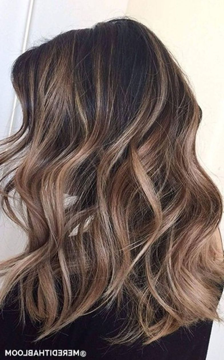 Hair Color : Stunning Fall Hairstyle Colors Ideas For Brunettes New Within Most Up To Date Fall Medium Hairstyles (View 13 of 20)