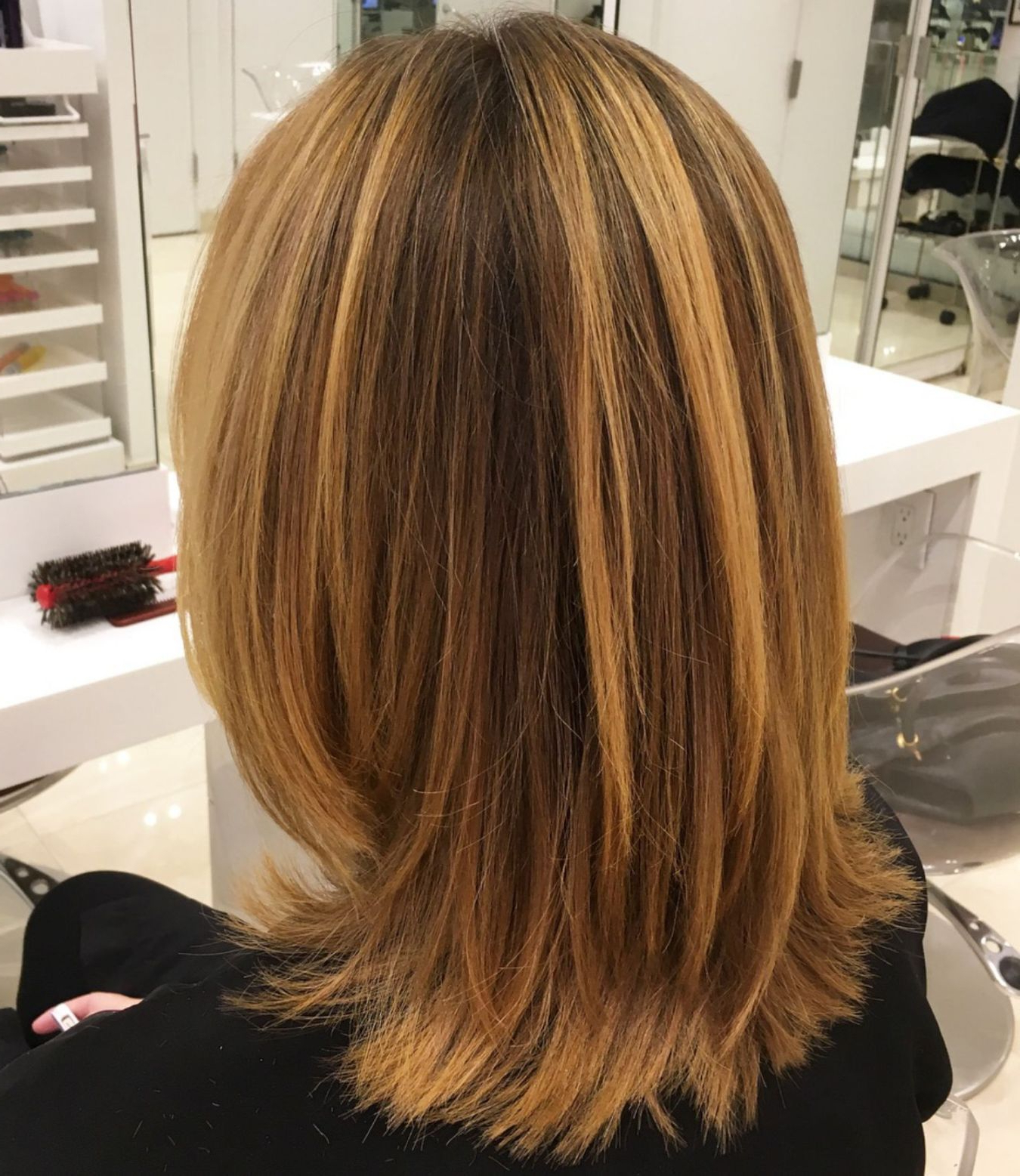 Hair Cut For Current Bob Haircuts With Symmetrical Swoopy Layers (Gallery 19 of 20)