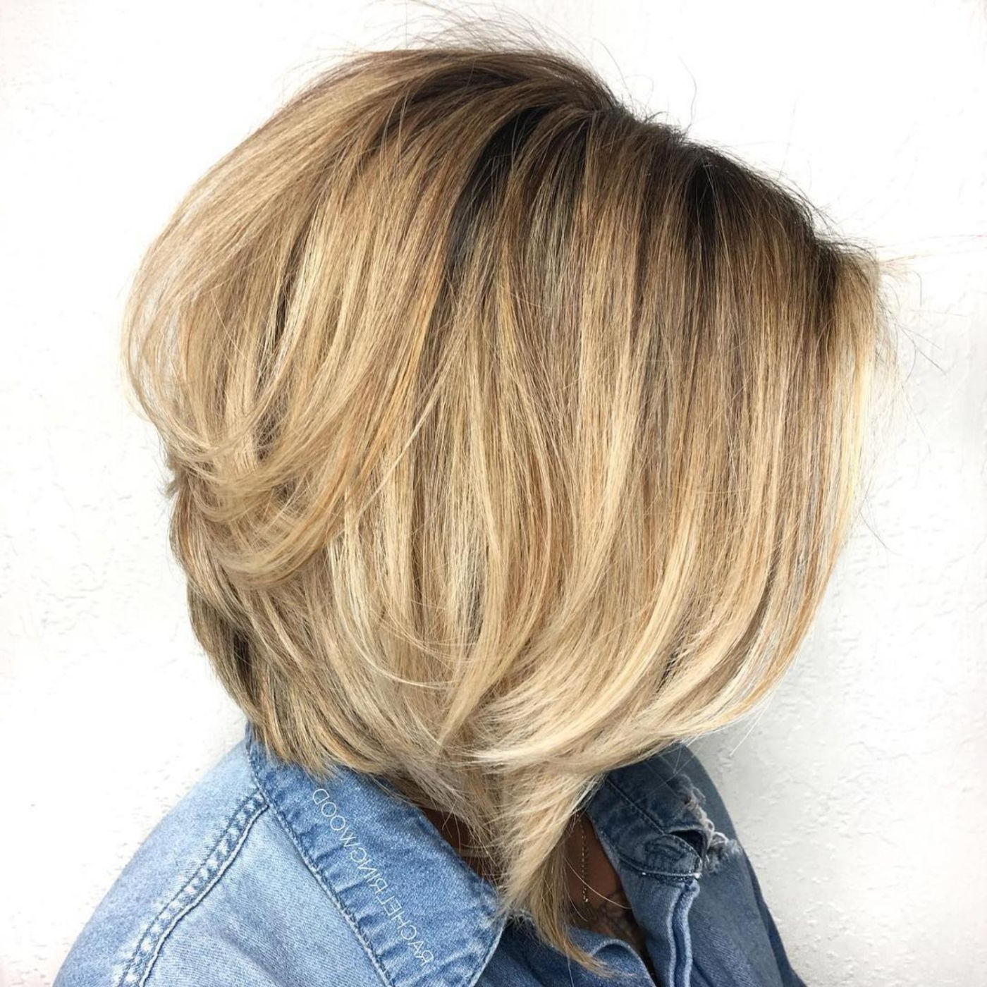 Hair Cut Pertaining To Well Known Uneven Layered Bob Hairstyles For Thick Hair (View 2 of 20)