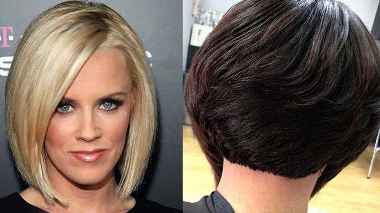 Hair Cuts : Haircuts For Round Faces Women Popular Bob Hairstyles Inside Preferred Medium Hairstyles For Round Faces Black Hair (View 6 of 20)