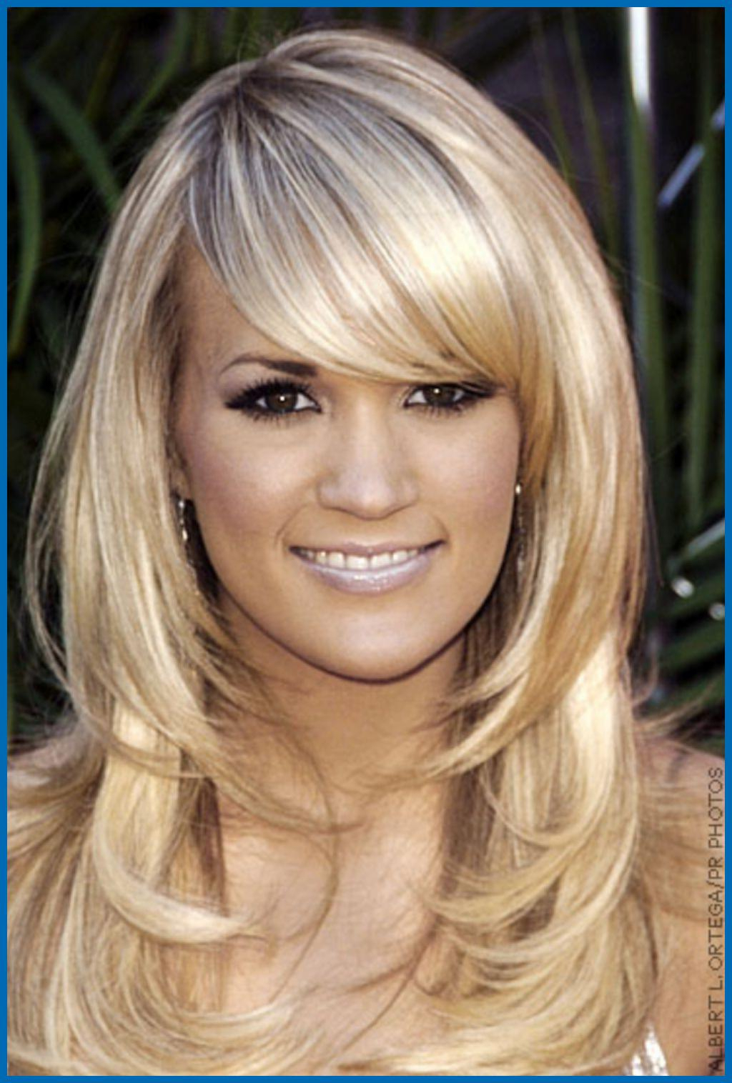 Hair Cuts : Hairstyles Medium Length Haircuts With Side Swept Bangs Inside Most Current Medium Haircuts Side Swept Bangs (View 6 of 20)