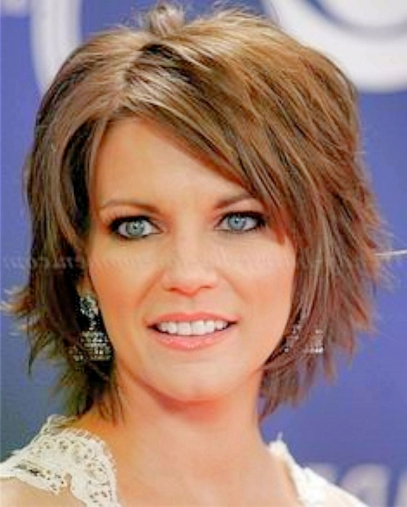 Hair Cuts : Marvelous Short Haircuts For Guys Women Over With Bangs Throughout Most Current Medium Haircuts For Women Over  (View 7 of 20)