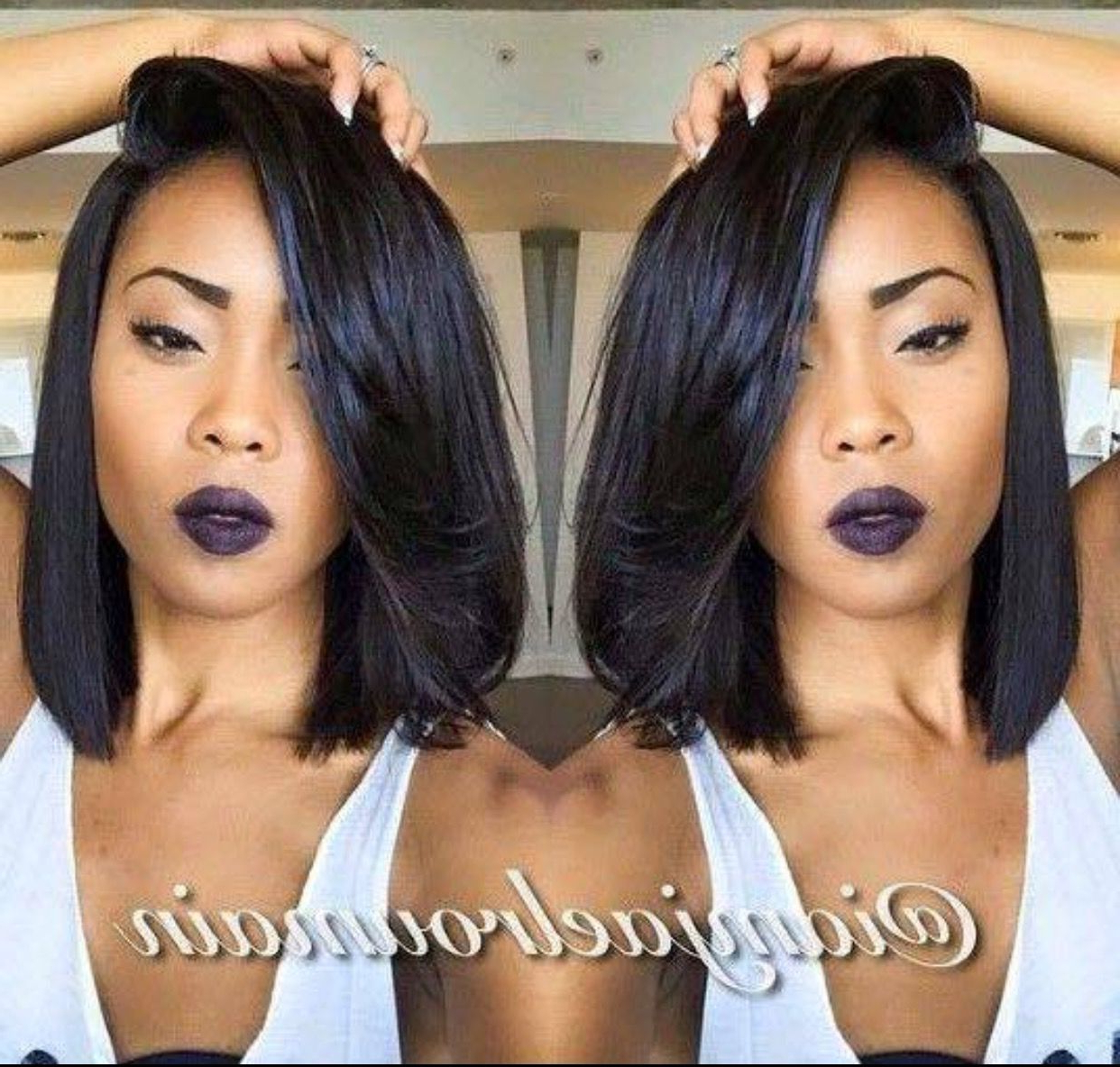 Hair, Hair With Regard To Most Popular Natural Medium Haircuts For Black Women (View 10 of 20)