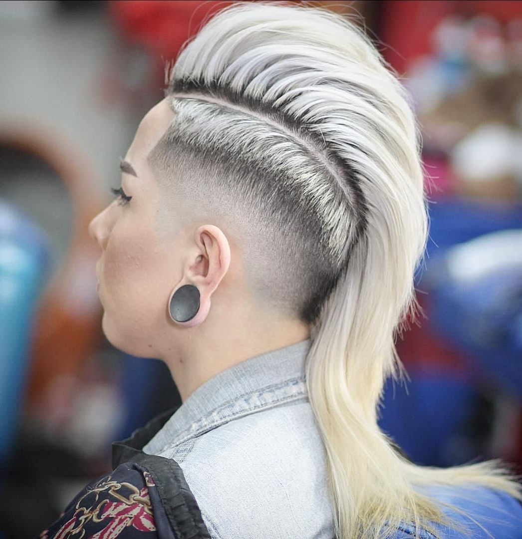 Hair Ideas Intended For Fashionable Extravagant Purple Mohawk Hairstyles (View 5 of 20)