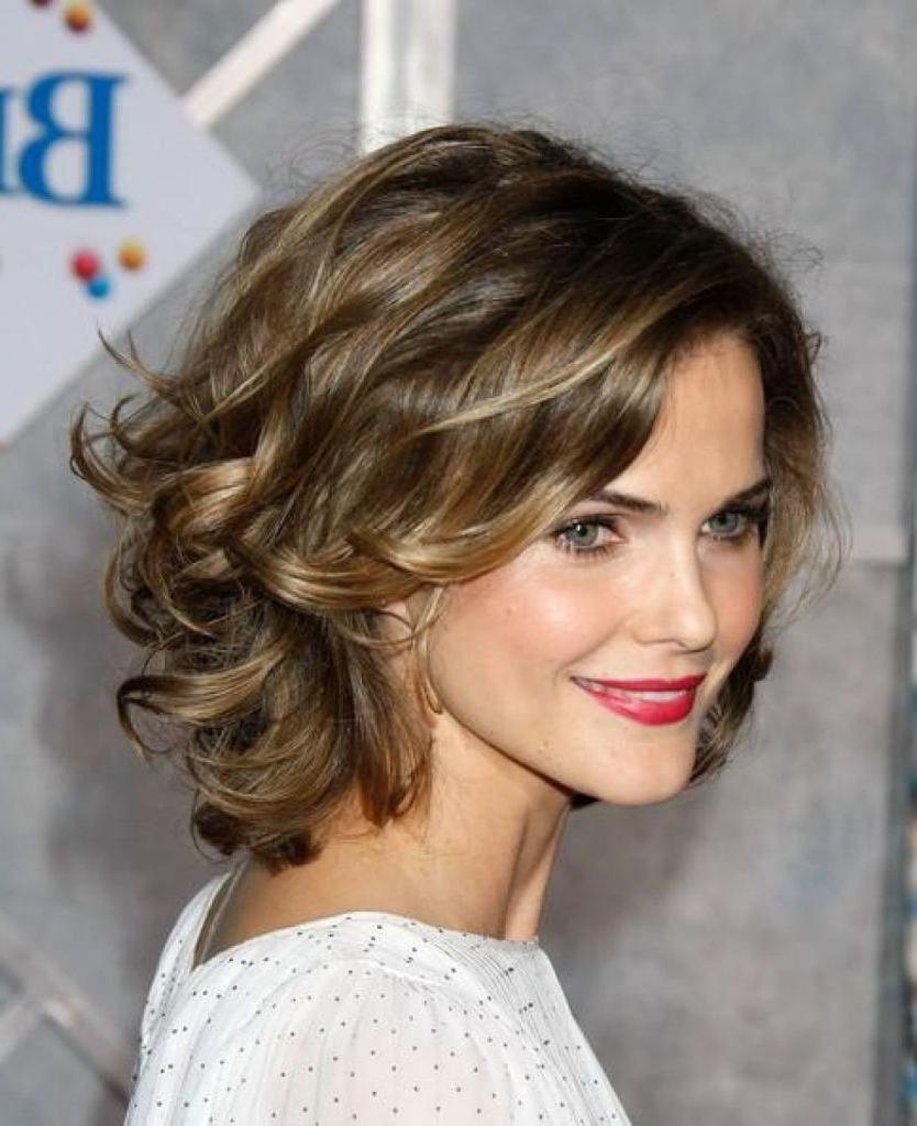 Hair In Popular Medium Haircuts For Thin Wavy Hair (View 14 of 20)