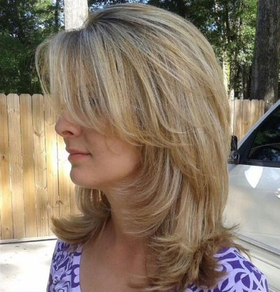 Hair Inside Current Medium Hairstyles With Perky Feathery Layers (View 14 of 20)