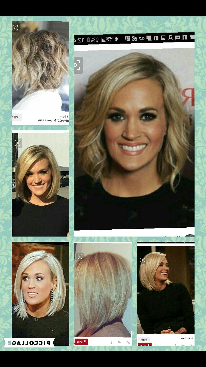 Hair Intended For Widely Used Carrie Underwood Medium Haircuts (View 11 of 20)