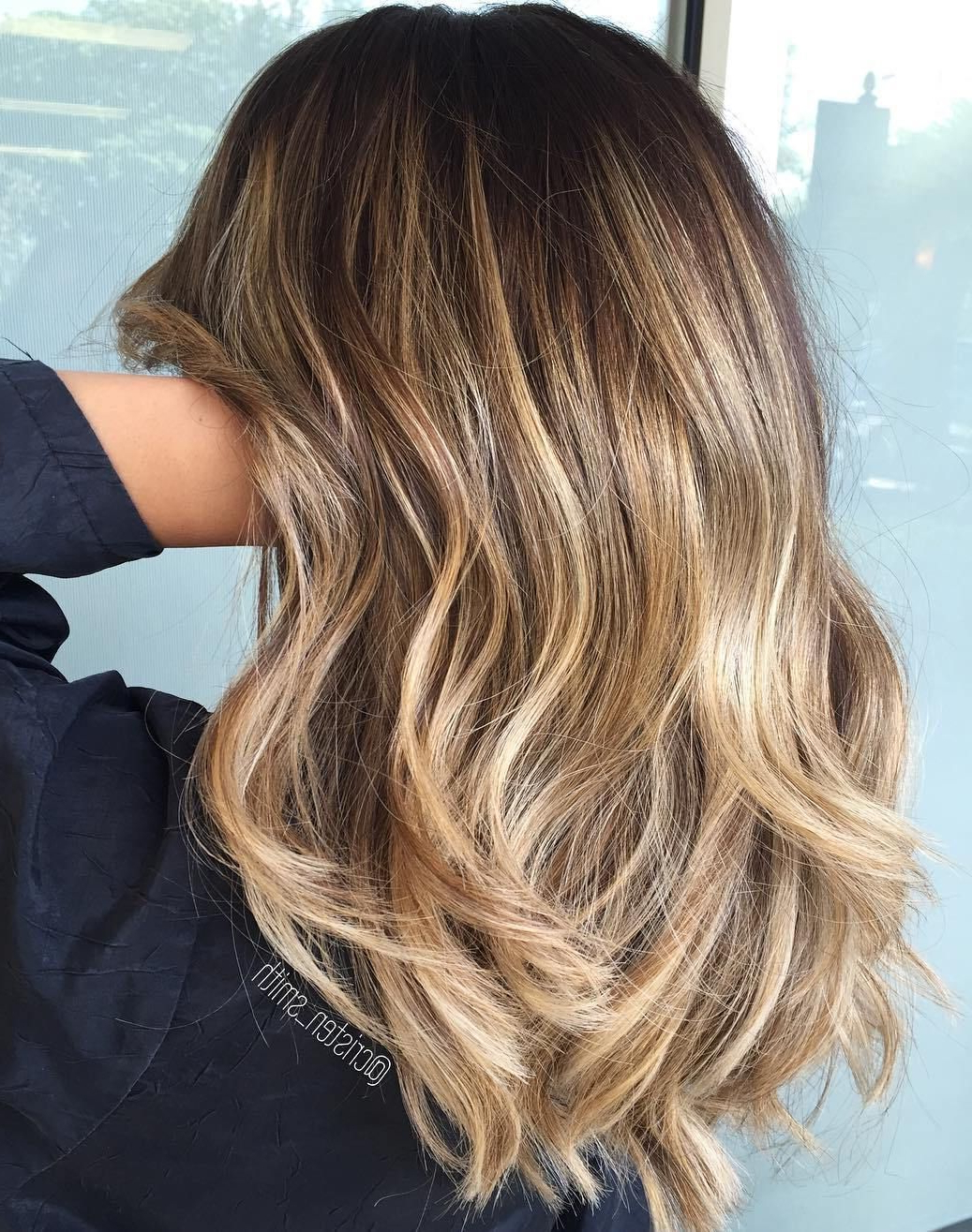 Hair, Nails, And Beauty In Fashionable Medium Hairstyles With Balayage (View 10 of 20)