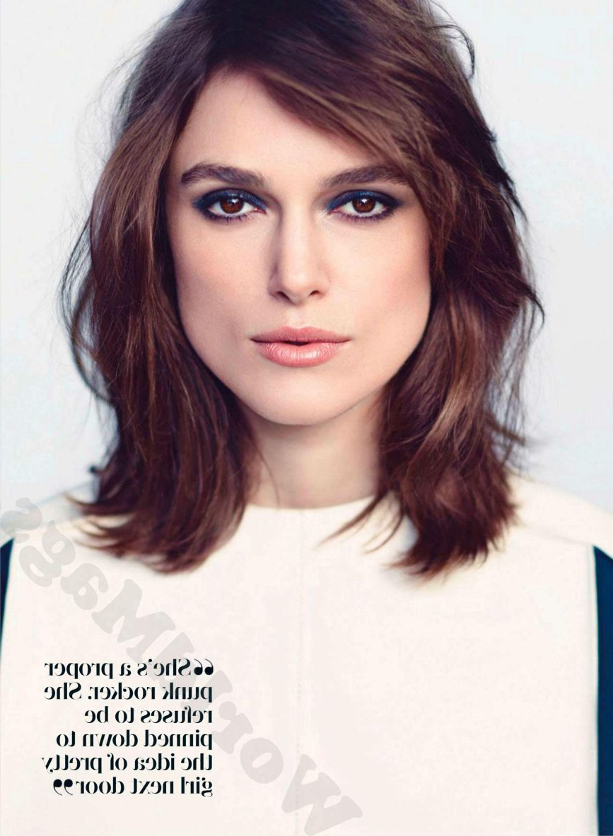 Hair, Nails & Make Up With Regard To Trendy Keira Knightley Medium Haircuts (View 9 of 20)
