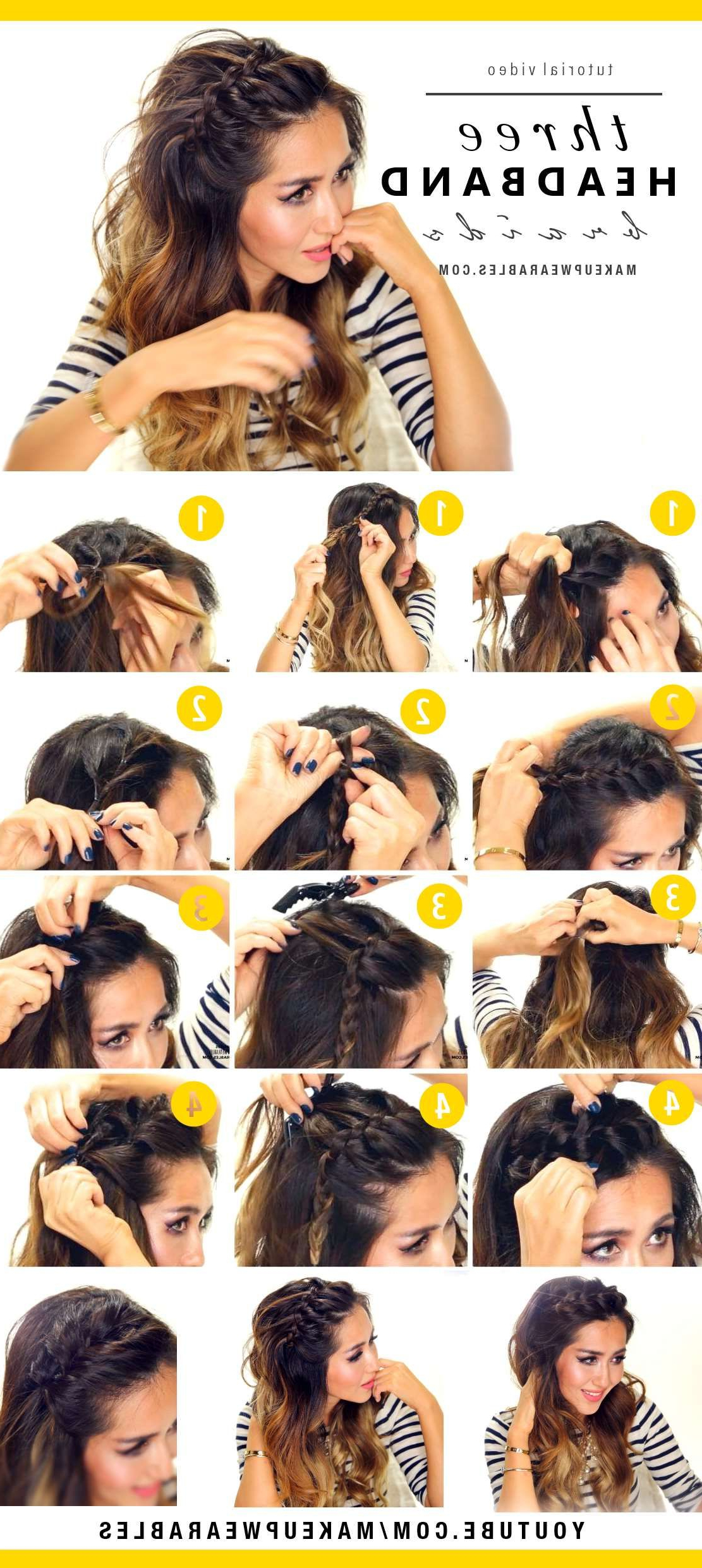 Hair Pertaining To Recent Cute Medium Hairstyles With Headbands (View 5 of 20)