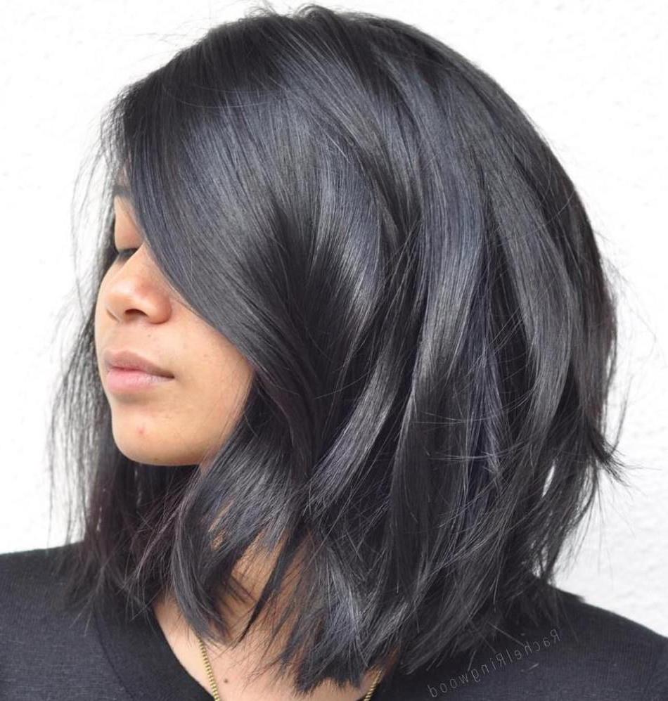 Hair Regarding 2017 Medium Haircuts For Black Hair (View 12 of 20)