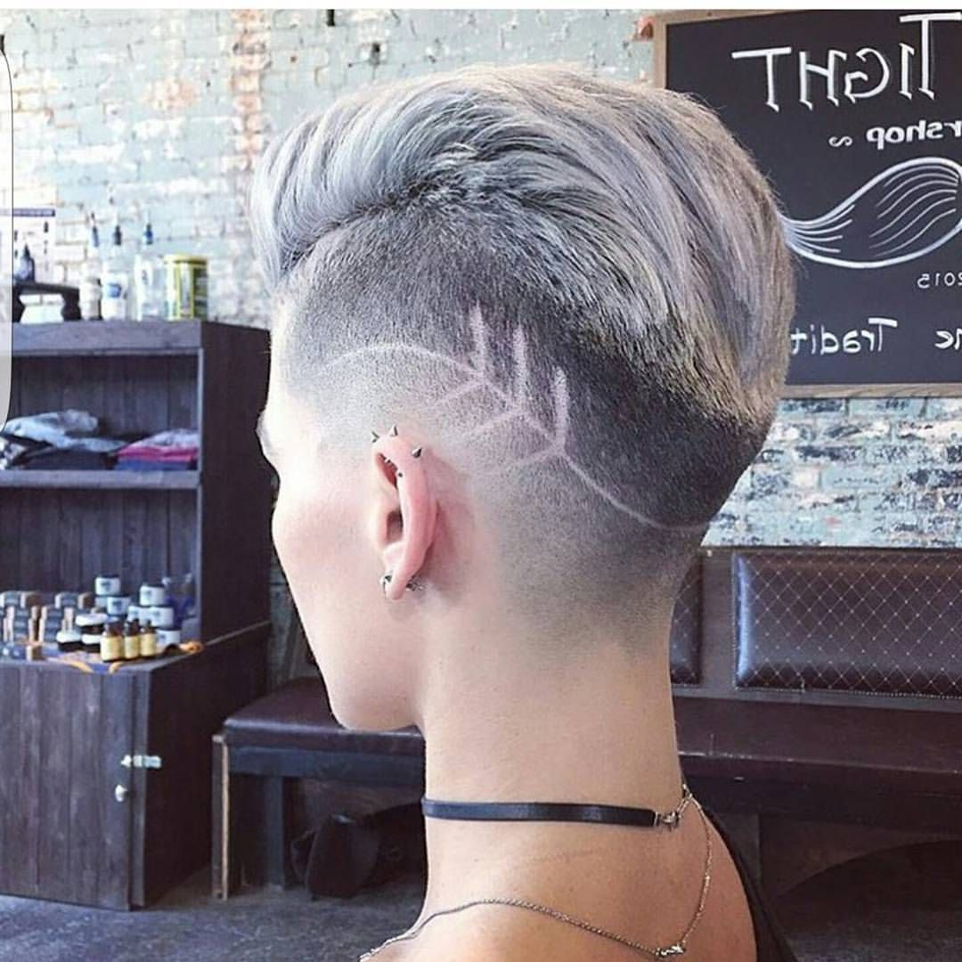 Hair, Short Hair Styles In Well Known Heartbeat Babe Mohawk Hairstyles (View 9 of 20)