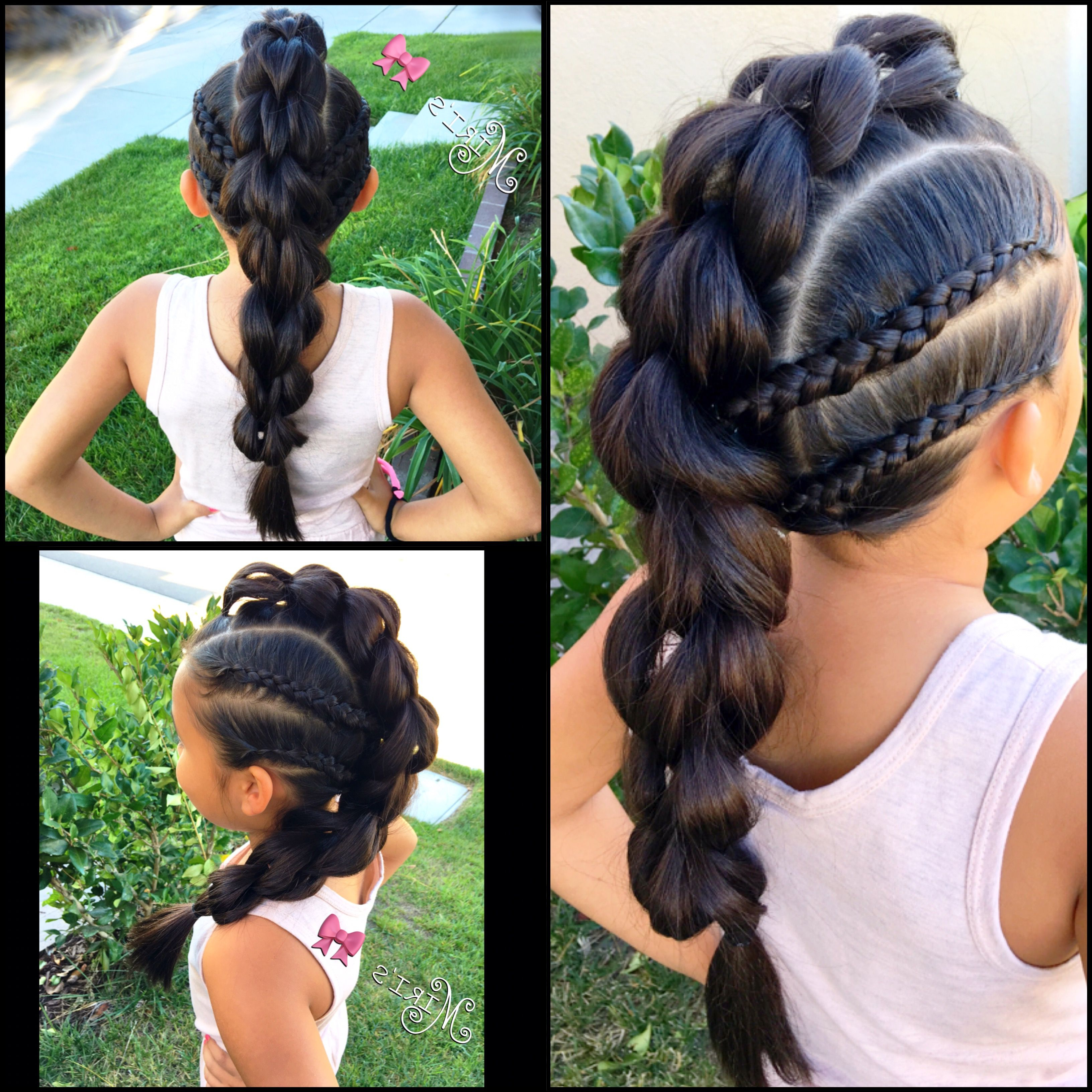 Hair Style For Little Girls (View 10 of 20)