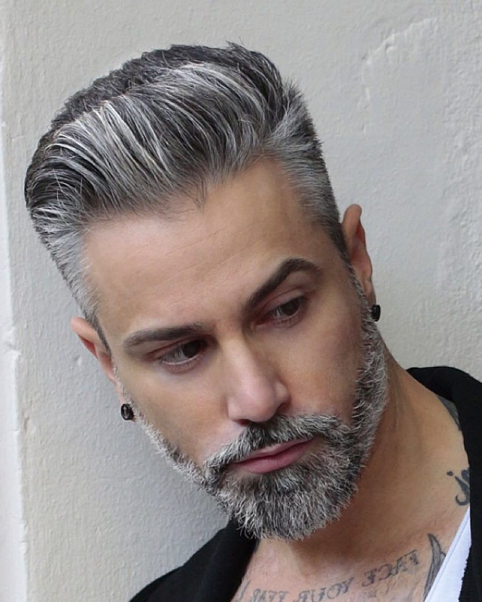Hair Throughout Favorite Stunning Silver Mohawk Hairstyles (View 11 of 20)