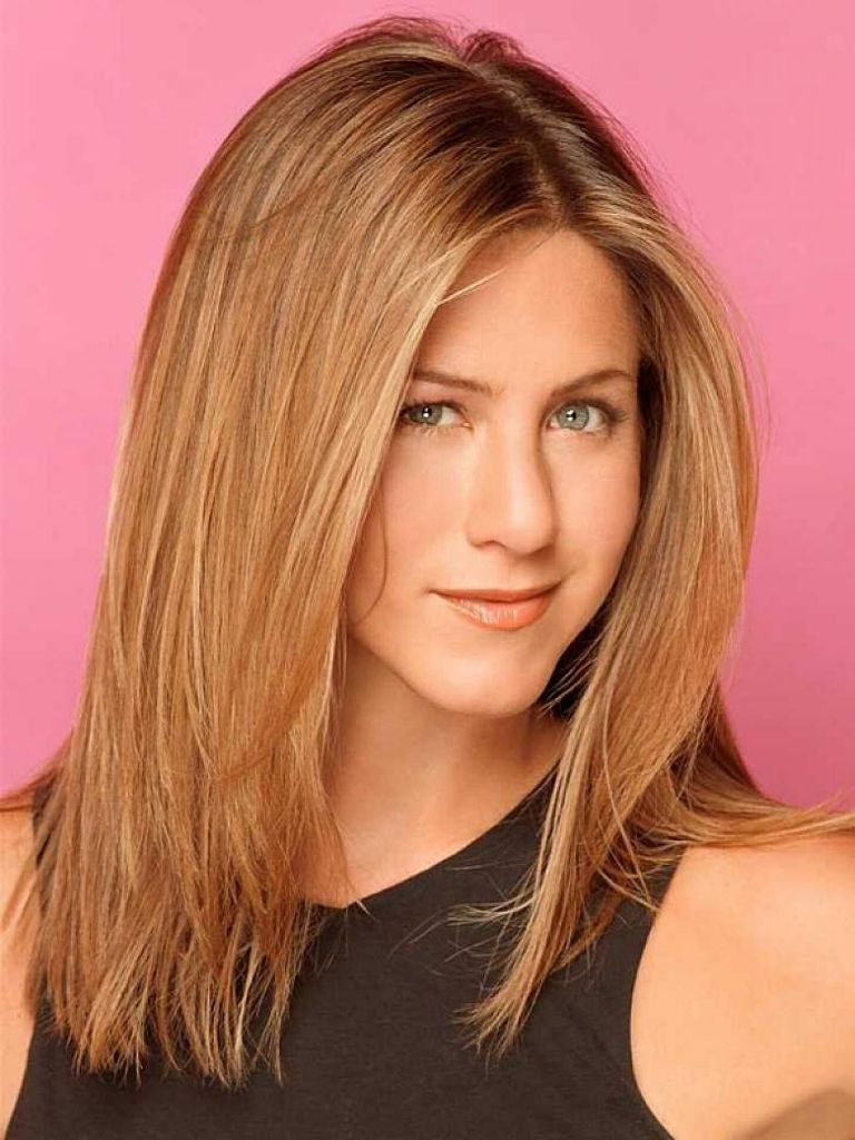 Haircuts For Long Thin Straight Hair Long Straight Layered Haircuts Inside Most Popular Medium Hairstyles For Thin Straight Hair (View 11 of 20)