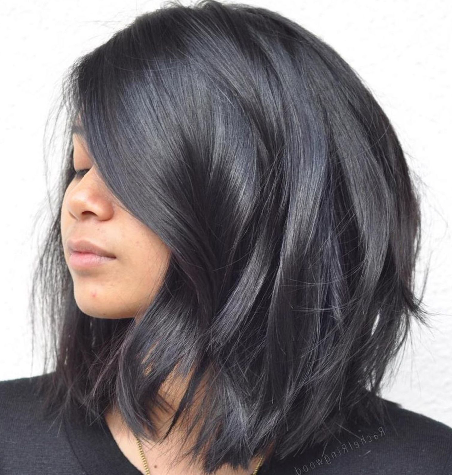 Haircuts Intended For Most Recently Released Black Hairstyles Medium Haircuts (View 8 of 20)