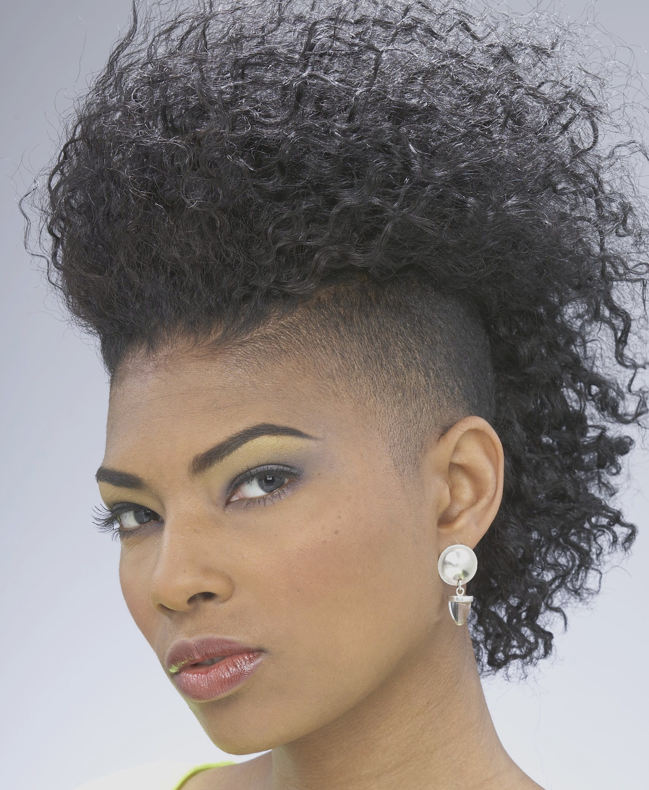 Hairstyle : Cool Natural Mohawk Hairstyles Home Design Awesome Within Most Recent Designed Mohawk Hairstyles (View 7 of 20)