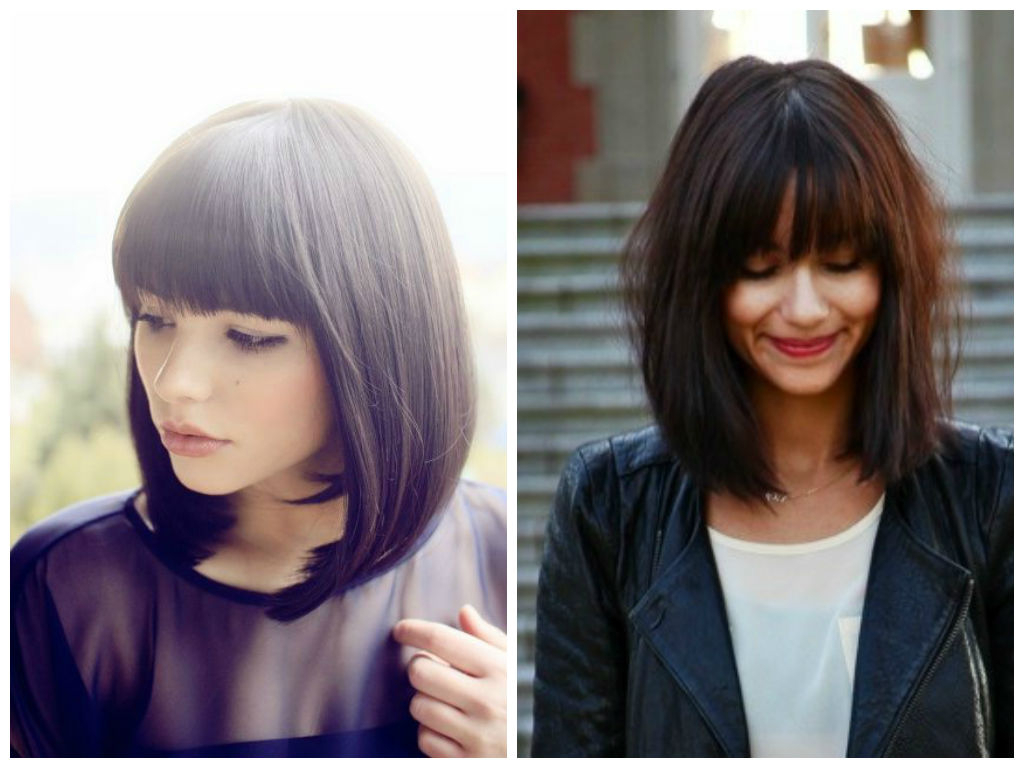 Hairstyle Ideas For Freshman Year – Hair World Magazine Intended For Well Liked Medium Hairstyles With Blunt Bangs (View 4 of 20)