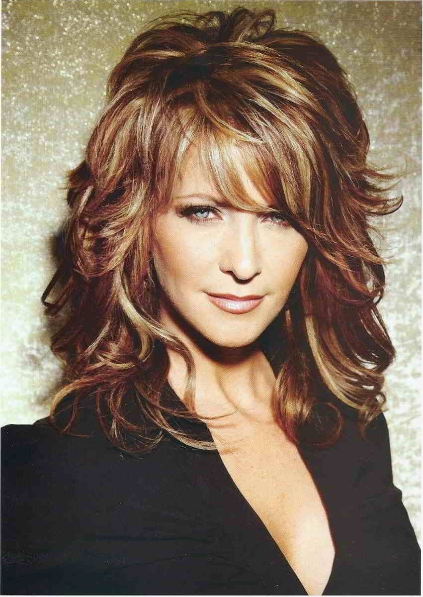 Hairstyle Picture Magz – Page 209 Of 238 – Hairstyles Women And With Regard To Most Popular Mid Length Haircuts With Curled Layers (View 16 of 20)