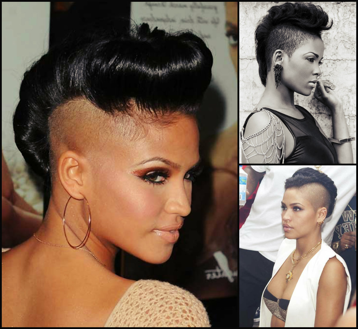 Hairstyles 2017, Hair Colors Inside Trendy Mohawk Medium Hairstyles For Black Women (View 7 of 20)