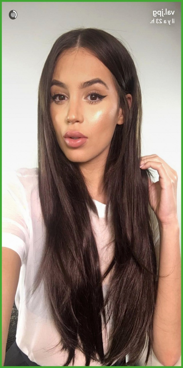 Hairstyles For Girls With Long Straight Hair Inspirational Intended For Most Popular Medium Haircuts For Straight Hair (View 16 of 20)