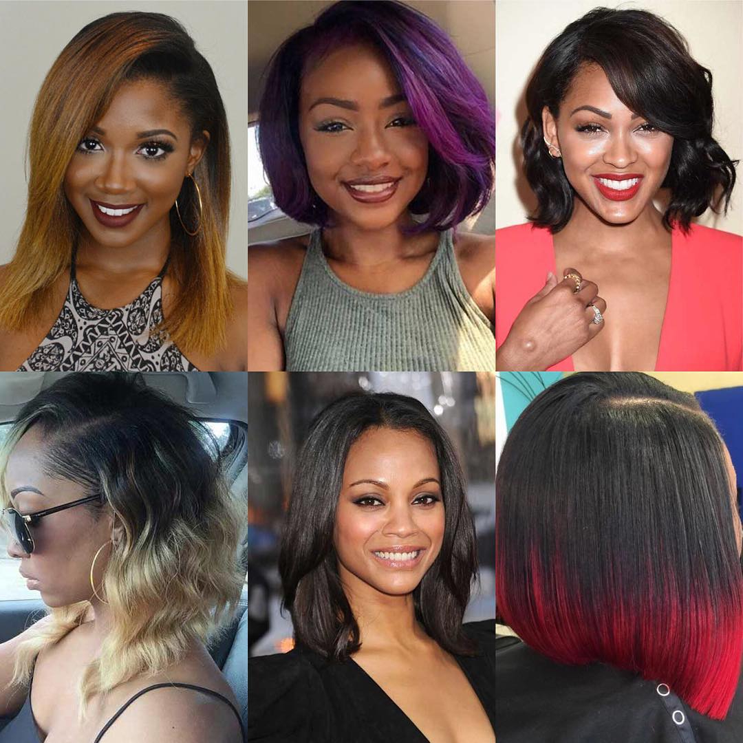 Hairstyles For Medium Length Hair: Latest Hairstyles Tips For Beauty Within Popular Black Girls Medium Hairstyles (View 7 of 20)