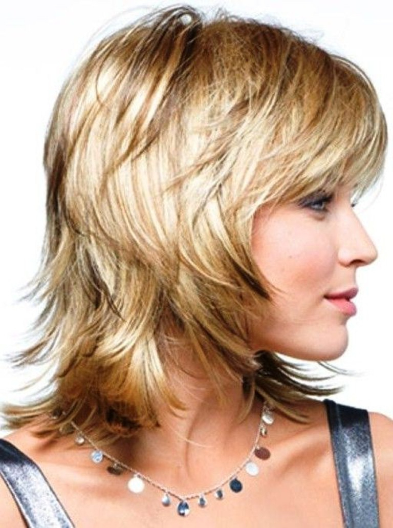 Hairstyles For Women Over 40 – The Xerxes In Favorite Medium Haircuts Over (View 15 of 20)