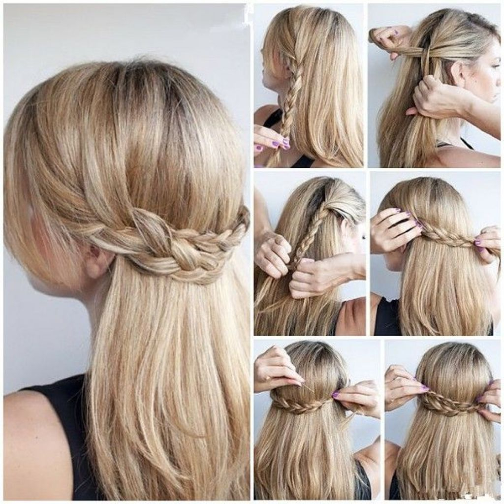 Half Up Half Down Hairstyles For Long Thick Hair – Google Search Inside 2018 Half Long Half Medium Hairstyles (View 8 of 20)