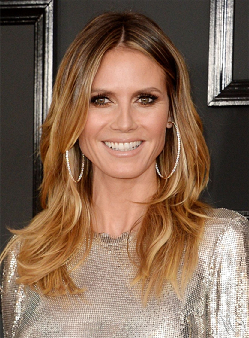 Heidi Klum Medium Hairstyle Heidi Klum Medium Hairstyle (View 17 of 20)