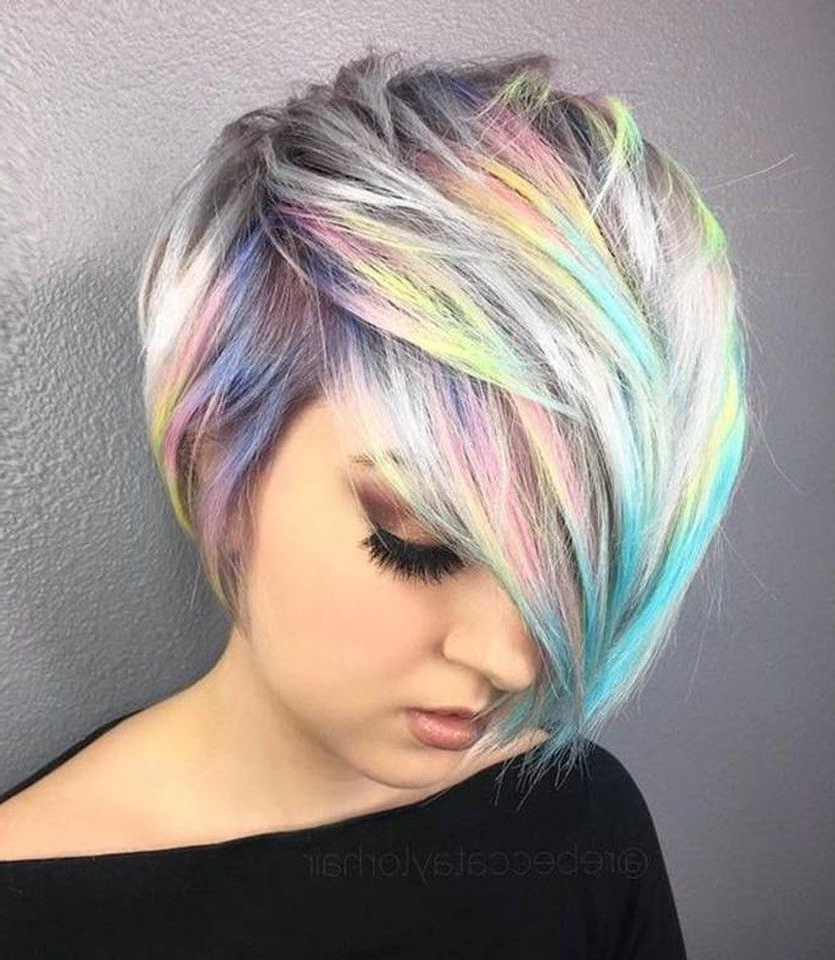 Holographic Hair – The Hottest New Hair Color Trend (View 14 of 20)