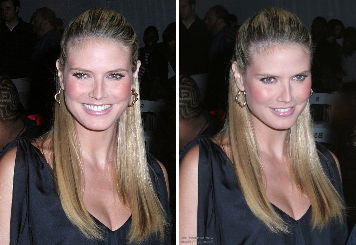 How To Create Heidi Klum's Look With Chest Length Hair, Partially In Latest Heidi Klum Medium Haircuts (View 11 of 20)