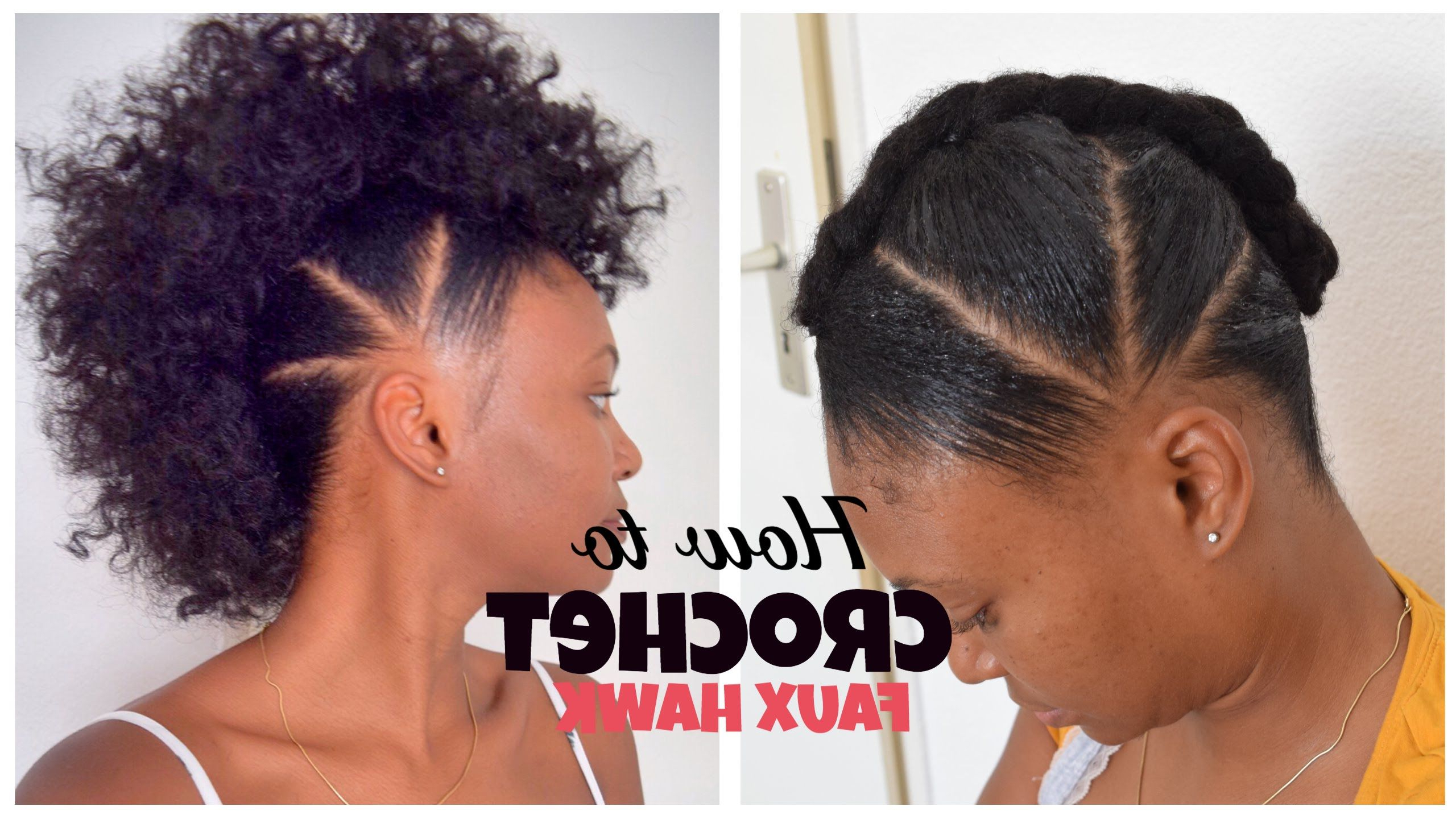 Featured Photo of Curly Style Faux Hawk Hairstyles