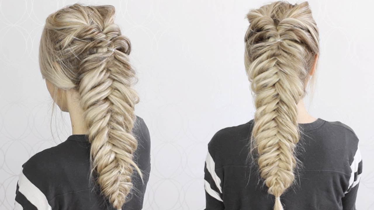Featured Photo of Messy Fishtail Faux Hawk Hairstyles