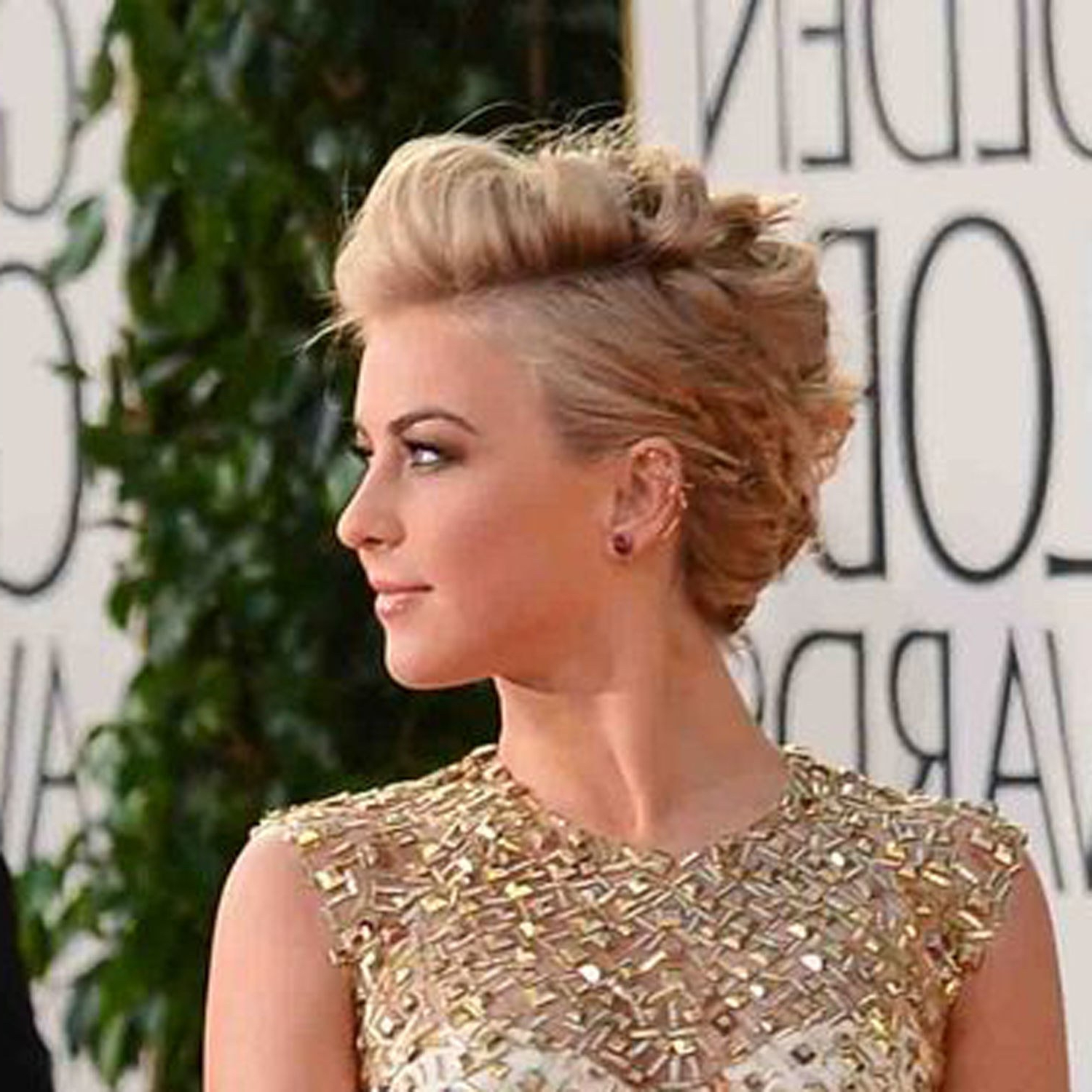How To Get The Cool Julianne Hough Updo That Won Our Best Of The Inside Recent Glamorous Mohawk Updo Hairstyles (View 11 of 20)