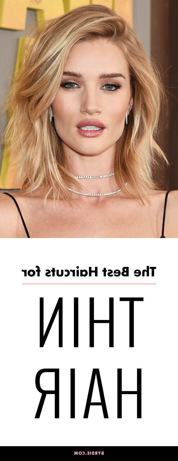 It's Official: These Are The All Time Best Haircuts For Thin Hair In Throughout Most Current Best Medium Haircuts For Thin Hair (Gallery 14 of 20)
