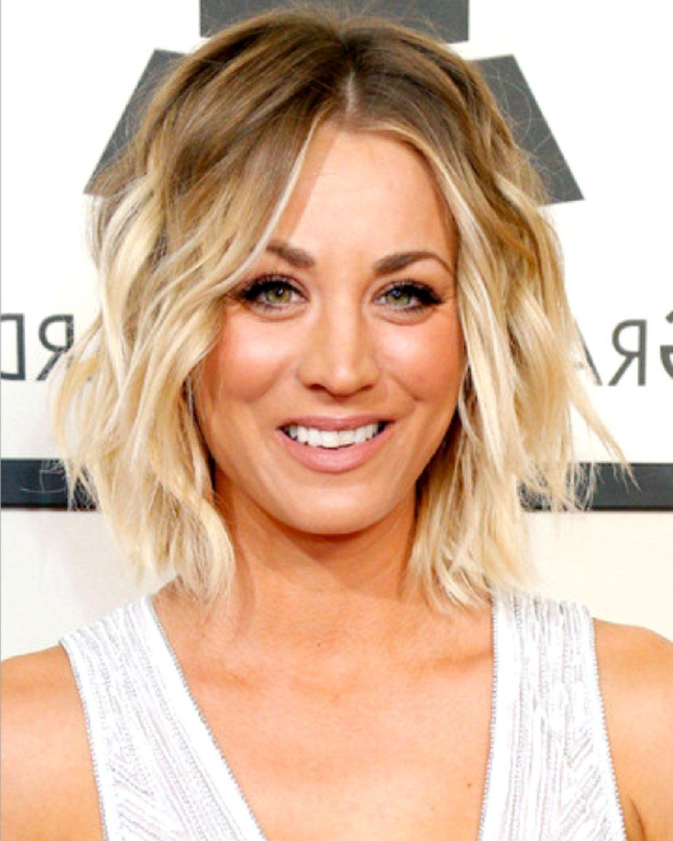 Kaley Cuoco – Bob Styled – Custom Celebrity Lace Wig (View 12 of 20)