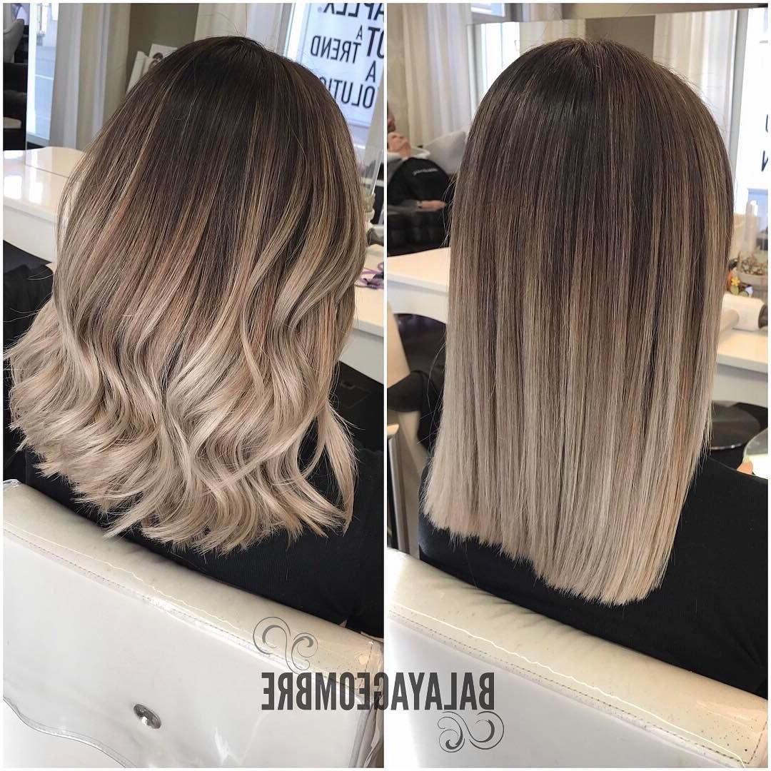 Latest Ash Blonde Medium Hairstyles Intended For 10 Best Medium Layered Hairstyles 2019 – Brown & Ash Blonde Fashion (View 11 of 20)